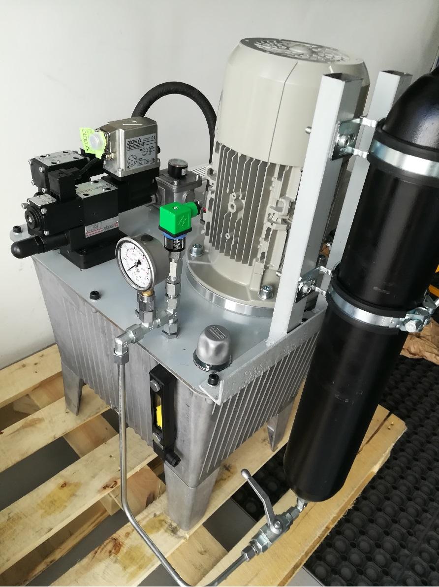 Produkcja agregatów hydraulicznych