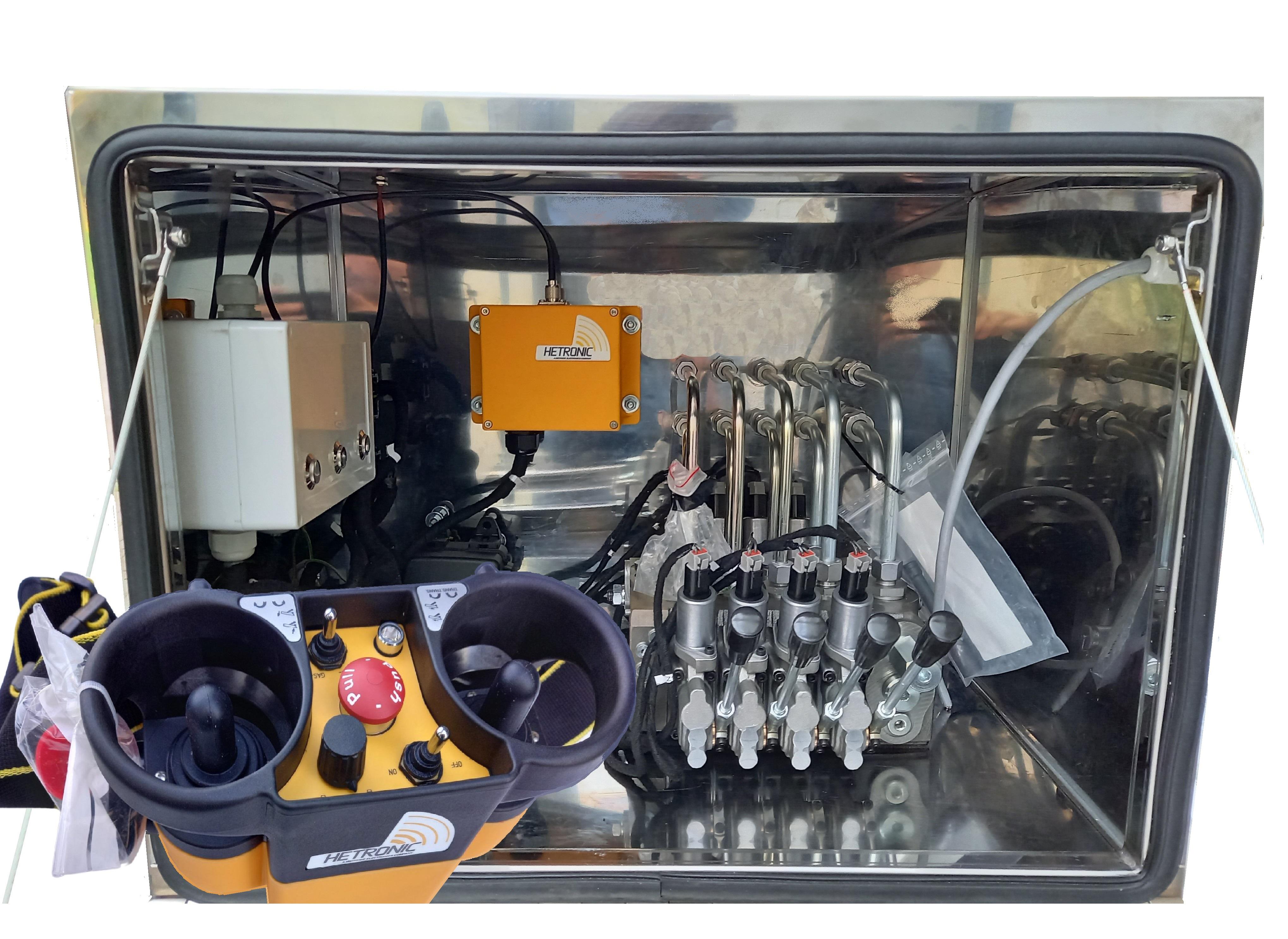 Sterowania radiowe w napędach hydraulicznych
