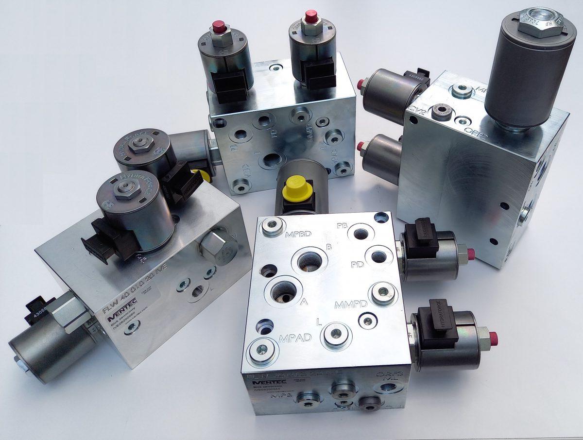 Specjalizowane bloki zaworowe hydrauliczne